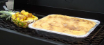 Peach Cobbler on the Grill