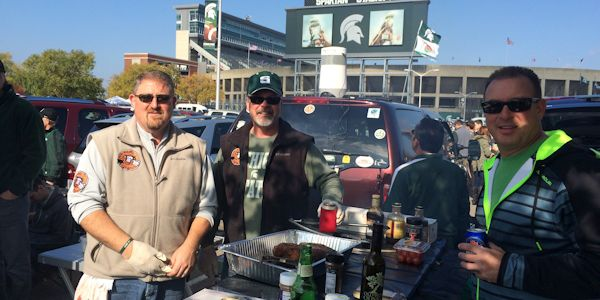Tailgating - Sparty Style